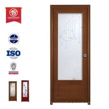 Exterior de madera de buena calidad de plástico resistente a la intemperie WPC puerta