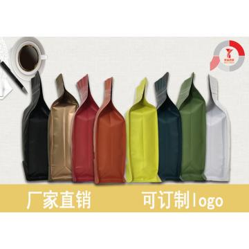 eight sides sealing coffee bag with valve