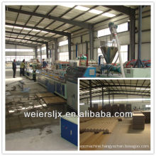 turn key project professional pvc wood plastic wpc door panel production line