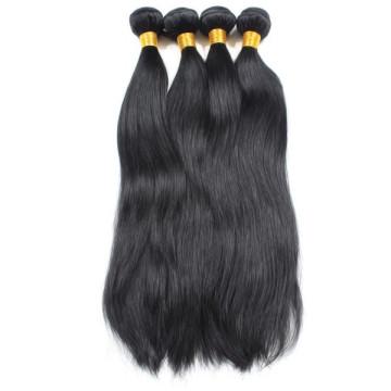 barato cabelo virgem reto malaio não processado de 100%