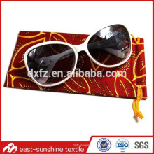 Venta loca, proveedor de impresión digital microfibra sunglass regalo bolsa