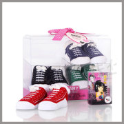 Baby PVC Clear Plastic Shoe Box Packaging