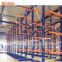 heavy duty double-side steel storage fabric roll rack