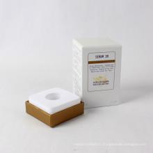 Emballage cosmétique fait sur commande de boîte de papier de parfum de luxe de carton