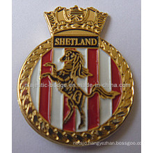 Customize Gold Plating & Sofe Enamel Lapel Pin (MJ-PIN-126)