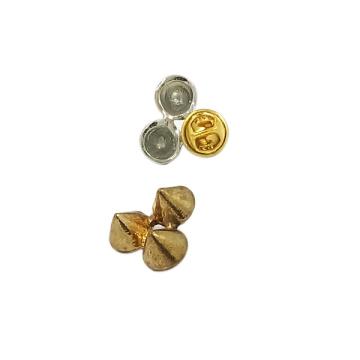 Pin à broche en métal à motif Rivet Style personnalisé (JH0036)