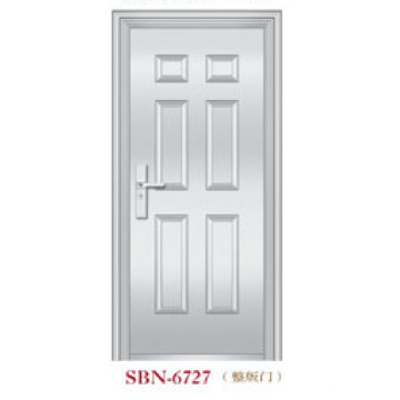 Porta de aço inoxidável para a luz do sol exterior (SBN-6727)