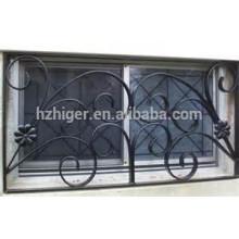 diseño de parrilla de ventana de hierro