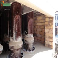 Machine de collecteur de poussière de cyclone de traitement de gaz de combustion