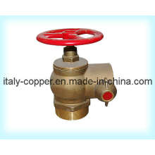Válvula de hidrante de fuego de latón forjada personalizada (AV4064)