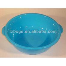 runde Plastikwaschbecken- / Schüsselform