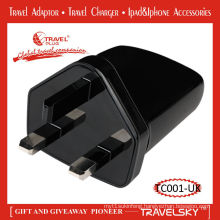 Worldwide travel 13a fuse plug adapter with international socket for 150 countries (TC001)