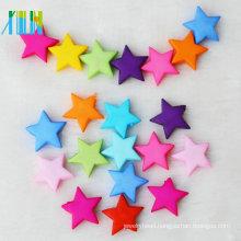 new fashion chunky acrylic star shaped beads