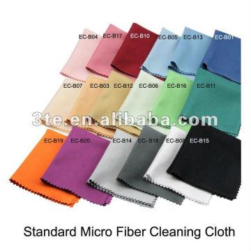 Pano de limpeza de lente de microfibra