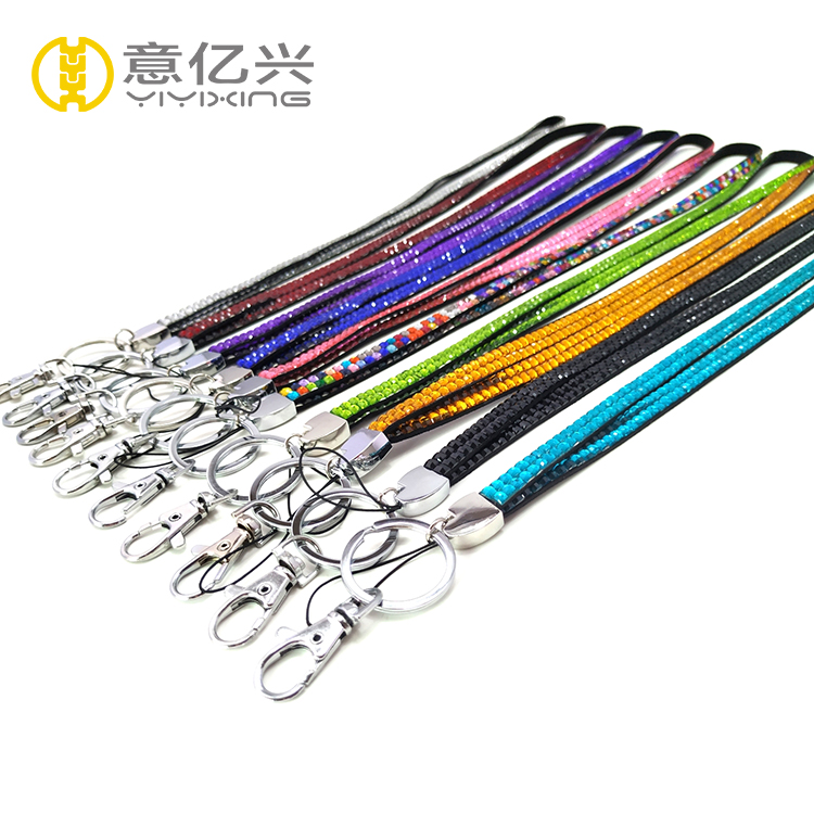 Bling Rhinestone Lanyards