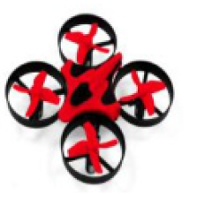 Mini drone quadcopter com WIFI