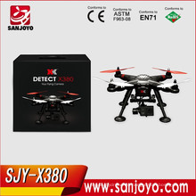 Wltoys Professional Drones! Multicopter XK X380 FPV con Gimbal GPS 2.4G RC helicóptero Quadcopter NUEVOS juguetes RTF