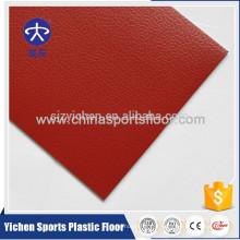Plancher professionnel de haute qualité de sports de PVC pour la cour intérieure de tennis de table