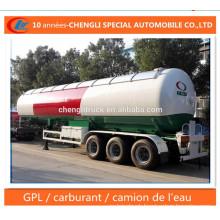 60cbm Propane Transport Trailer 59.52cbm LPG Transportaion Trailer for Sale