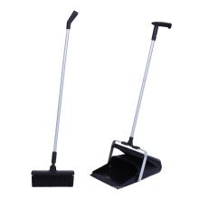 Detachable Windproof Dustpan and Broom Set Windproof Shovel Outdoor Cleaning Plastic All-season Customized B01-SB052 Aluminum