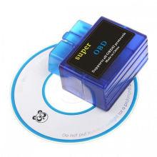 OEM Elm327 Bluetooth Super БД Elm327 OBD2 автомобиля диагностический инструмент Авто код читателя OBD2