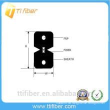 2-adriges FTTH G657a2 Innen-Drop-Glasfaserkabel mit LSZH-Jacke