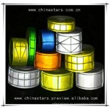 Colores personalizados Cola de PVC reflectante de seguridad para ropa
