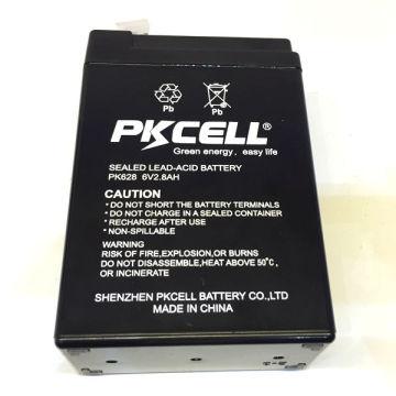 Preço de 6V 2.8Ah da bateria acidificada ao chumbo recarregável VRLA da bateria acidificada ao chumbo 6v 2.8ah