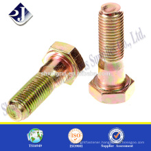 hexagonal bolt full thread nut bolt manufacturing machine bolt nut