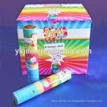 Nueva fiesta de cumpleaños de los niños del diseño y partido de la boda Popper suministra para la decoración del confeti del partido