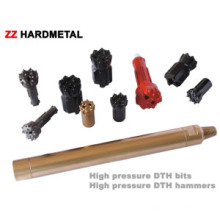 Herramientas de perforación de roca DTH Herramientas de perforación PDC Herramientas de perforación DTH