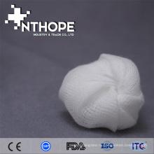 Медицинские Устранимые хирургические марлевые шарик с рентгеновским