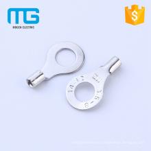 Espárragos de terminal de anillo no aislados Stud # 8, terminales de cobre con cable de 0,5-1,5 mm2, certificación CE