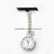 Enfermeira de prata relógios fob para médicos