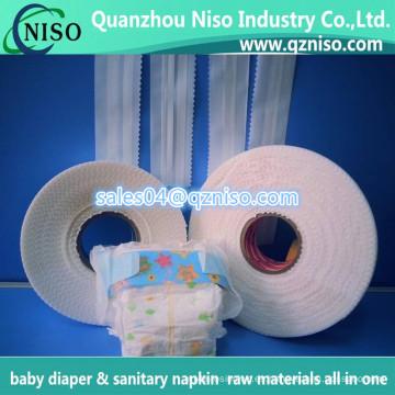 Cinta adhesiva mágica no tejida para pañales para bebés