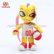 Plush toy wholesale football dragon,toy happy dargon
