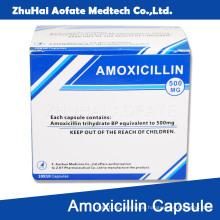 Amoxicillin Kapsel Karton Verpackung
