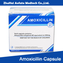 Amoxicillin Capsule Carton Packaging