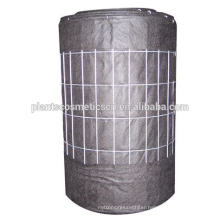 "16 GA Wire Mesh 4""x4"" wire backed Silt Fence"