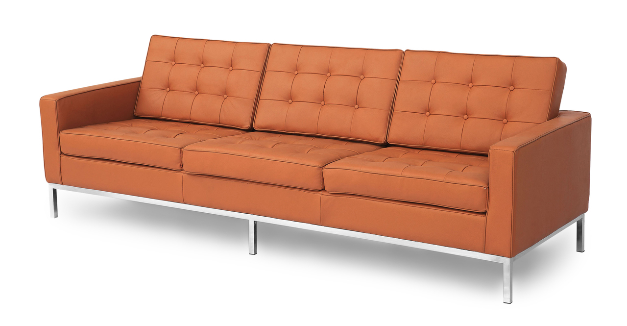 florence knoll three seaters sofa