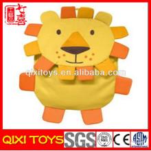 custom made bichos de pelúcia macia leão mochila de pelúcia