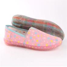 Zapatos de mujer Zapatos de comodidad de ocio de moda con suela transparente (SNC-64027)