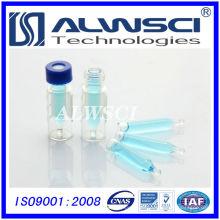 2014 HOTSALE 2ml National Scientific hplc Durchstechflasche Chromatographie Durchstechflasche mit Einsatz