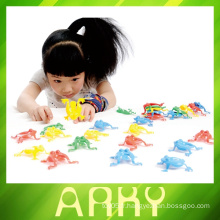 Bloc de construction en plastique à chaud, éclairer les jouets en brique, les blocs de construction en plastique pour enfants