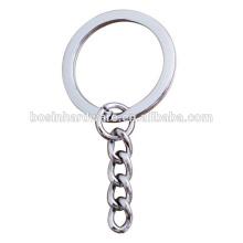 Мода Высокое качество металла плоский Сплит кольцо брелок