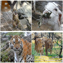 Zoo Mesh / Edelstahl Ferrule Seil Mesh