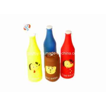 Jouet d'animal familier de bouteille de vinyle Jouet chinois bon marché