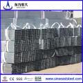 Tubería de acero cuadrada de carbono negro ASTM