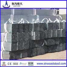 Tubería de acero rectangular / tubería de acero