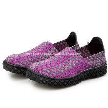 Chaussures décontractées tissées à la main 05